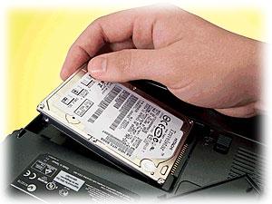 Výměna pevného disku notebook Asus