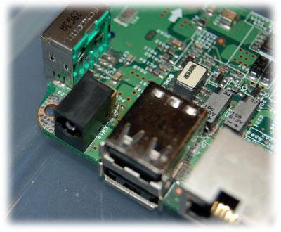 Notebook Asus konektor